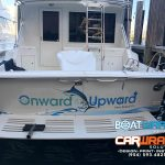 Custom Yacht Lettering & Graphics Fort Lauderdale Florida