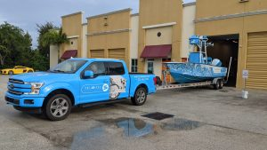 Marina & Marine Business Commercial Car Wraps